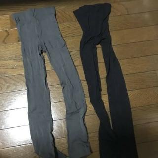 アツギ(Atsugi)の黒とグレーのレギンス(レギンス/スパッツ)