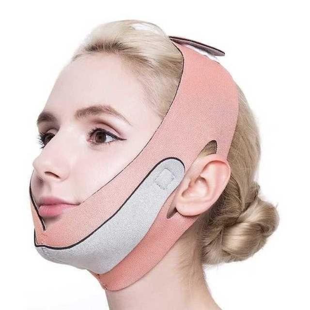 【在庫★処分】小顔!顔痩せグッズ!フェイスマスクの通販
