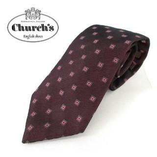 Church's - Church's ネクタイ シルク100% イングランド製