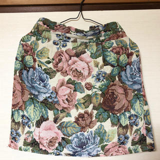 しまむら - 花柄スカート