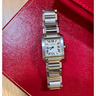 Cartier - 明日消します。Cartier カルティエ タンクフランセーズ SM 腕時計