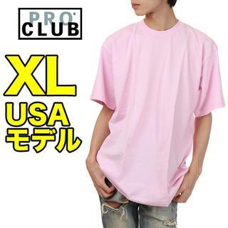 【新品】PRO CLUB プロクラブ Tシャツ XL 無地 メンズ USAモデル(Tシャツ/カットソー(半袖/袖なし))