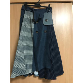 REDYAZEL - レディアゼル 異素材ミックススカート