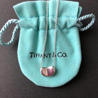 Tiffany & Co. - ティファニー ネックレス ビーンペンダント シルバー