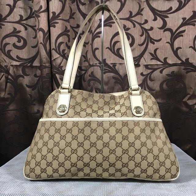 Gucci - GUCCI グッチ GGキャンパス ハンドバッグの通販
