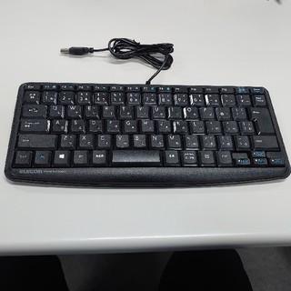 ELECOM -  美品 エレコム TK-FCM089SBK 有線静音ミニキーボード