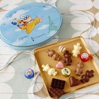 チョコレート(chocolate)の【ル・コルドン・ブルー】シェフベアチョコレート缶(菓子/デザート)