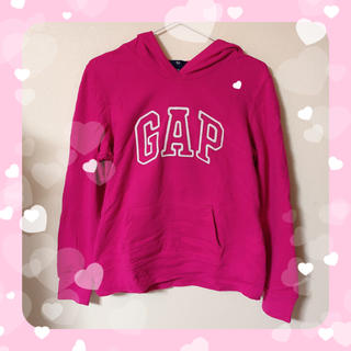 GAP - GAP gap ギャップ   パーカー トレーナー ピンク