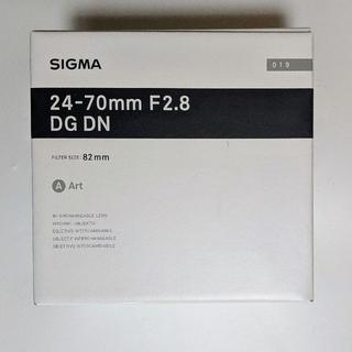 SIGMA 24 70 f2.8 DG DN 標準 lマウント シグマ ART(レンズ(ズーム))