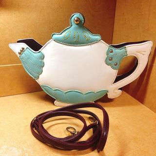 ハコ(haco!)のフェリシモ haco アリスのお茶会バッグ(ショルダーバッグ)