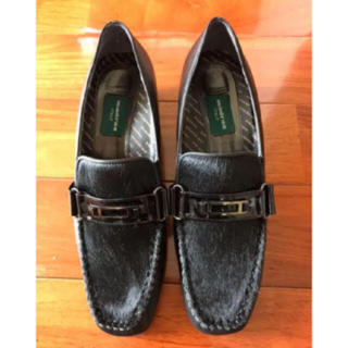 マドラス(madras)の皮 靴 madras 22.5(ローファー/革靴)