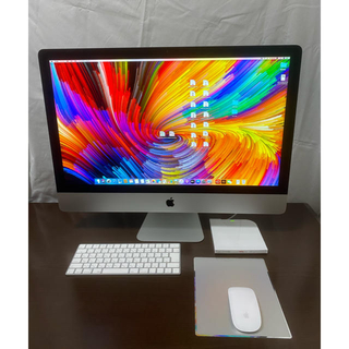 Mac (Apple) - iMac 27インチ 5k 2019 数回使用のみ