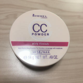 リンメル(RIMMEL)のリンメル  CCパウダー(フェイスパウダー)