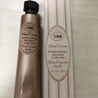 SABON - サボン新品ハンドクリーム