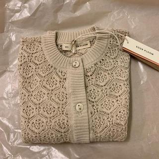 Caramel baby&child  - 新品 20ss soor ploom  ローズカーディガン6/7y