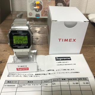 シュプリーム(Supreme)のk様専用 19aw Supreme Timex Digital  silver(腕時計(デジタル))