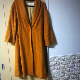 ジャーナルスタンダード(JOURNAL STANDARD)のjournal standard ロングコート♡新品春カラーののオレンジ🧡(ロングコート)
