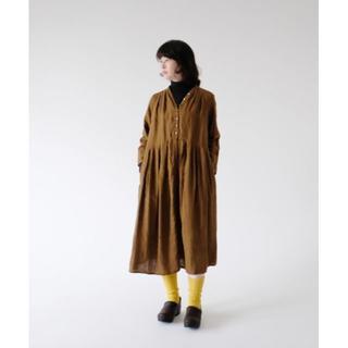 ネストローブ(nest Robe)のnestrobe ネストローブ Yネックドレス 未使用(ロングワンピース/マキシワンピース)