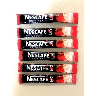 ネスレ(Nestle)のネスカフェ 3in1スティックコーヒー 6袋(コーヒー)