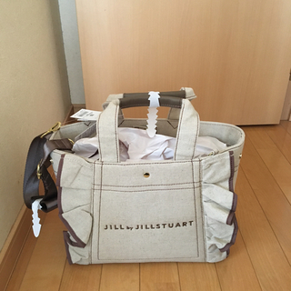 JILL by JILLSTUART - 🌸新品ジルバイジルスチュアートフリルトートバッグ大