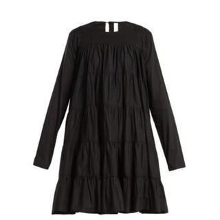 期間限定sale!マーレット SOLIMANワンピ―ス ブラックXSサイズ(ミニワンピース)