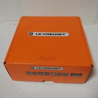 ルクルーゼ(LE CREUSET)のル・クルーゼ ココットロンド両手鍋 レッド22(鍋/フライパン)