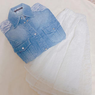 INGNI - デニムシャツ*ロングシャツ