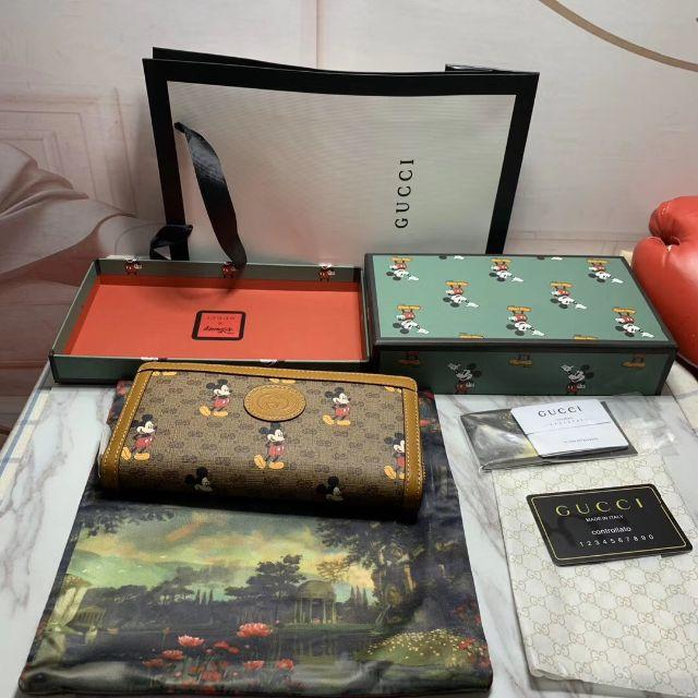 Gucci - GUCCI ディズニーコラボ グッチ 長財布 ウォレット 正規品の通販