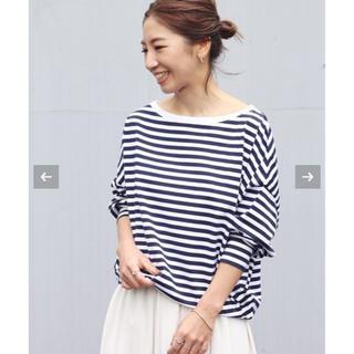 プラージュ(Plage)のPlage 新品★【R'IAM 】FEMININE ボーダーTシャツ(Tシャツ(長袖/七分))