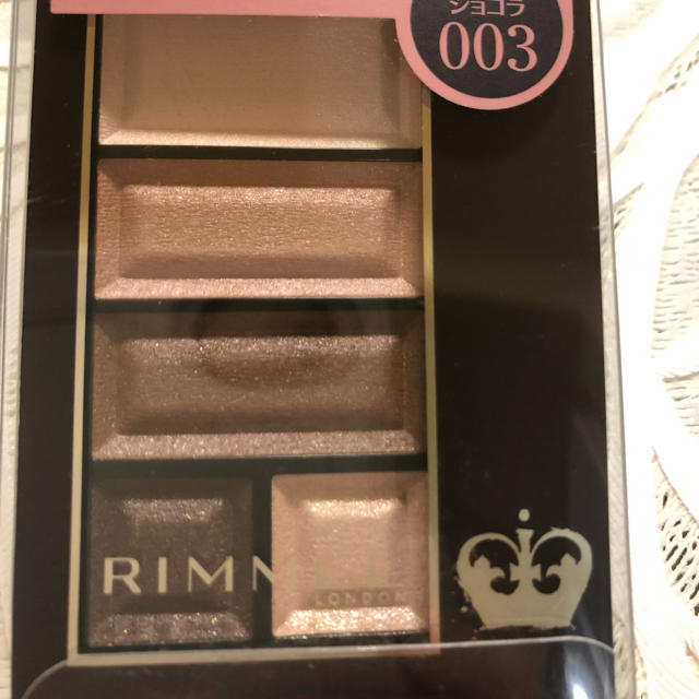 RIMMEL(リンメル)のリンメル ショコラスィート アイズ ソフトマット 003 コスメ/美容のベースメイク/化粧品(アイシャドウ)の商品写真