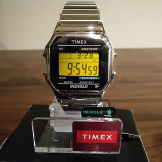 タイメックス(TIMEX)の(最終値下げ)新品 タイメックス T78587  TIMEX(腕時計(デジタル))