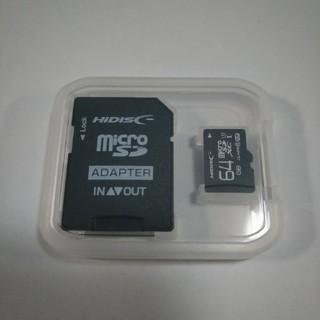 新品★マイクロSDカード64GB microSD ドラレコやスマホに(PC周辺機器)