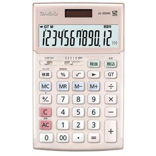 CASIO - 【新品未使用】カシオ 本格実務電卓 12桁 ピンク