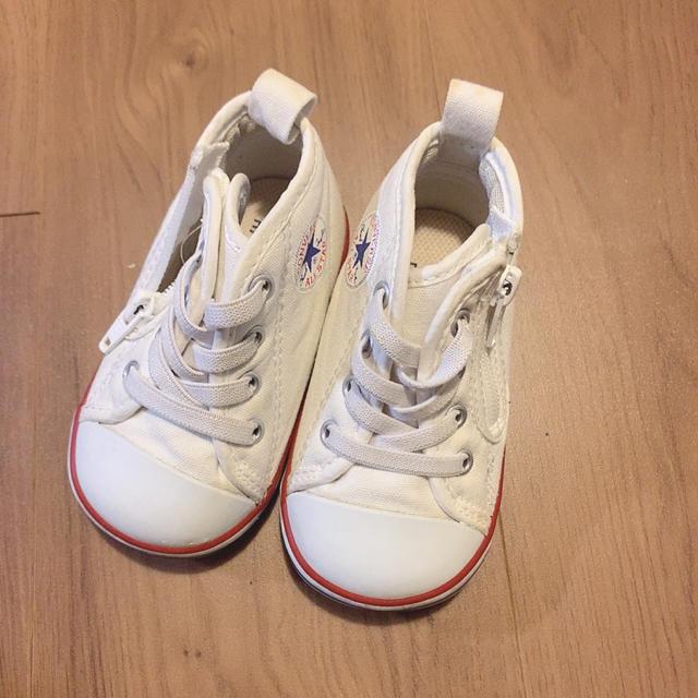 CONVERSE(コンバース)のファーストシューズ 12センチ キッズ/ベビー/マタニティのベビー靴/シューズ(~14cm)(スニーカー)の商品写真