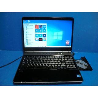 NEC - ★64bit Win10/ NEC ノートパソコン LaVie LL550/W★
