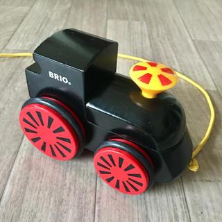 ブリオ(BRIO)のBRIO★機関車 木のおもちゃ(電車のおもちゃ/車)