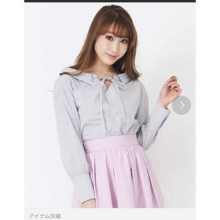 ティティアンドコー(titty&co)のtitty&Co. バッグオープンシャツ(シャツ/ブラウス(長袖/七分))