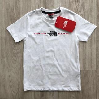 THE NORTH FACE - 【海外限定】新作 TNF ノースフェイス キッズ 3Dロゴ Tシャツ 130cm