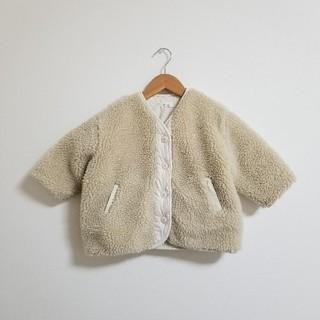 petit main - 韓国子供服 monmimi ボア コート アウター プティマイン テータテート