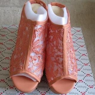 【新品】厚底サンダル ウェッジソール LL(サンダル)