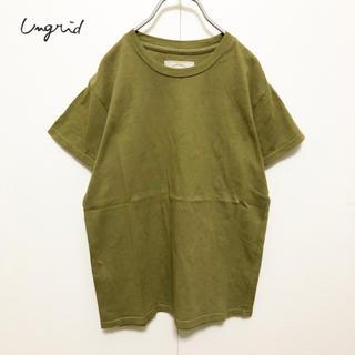 Ungrid - ☆【Ungrid】クルーネック  コンパクトTシャツ 美品
