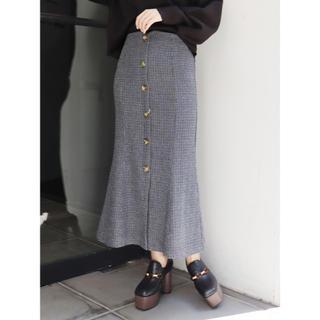 MURUA - フロントボタンマーメイドスカート