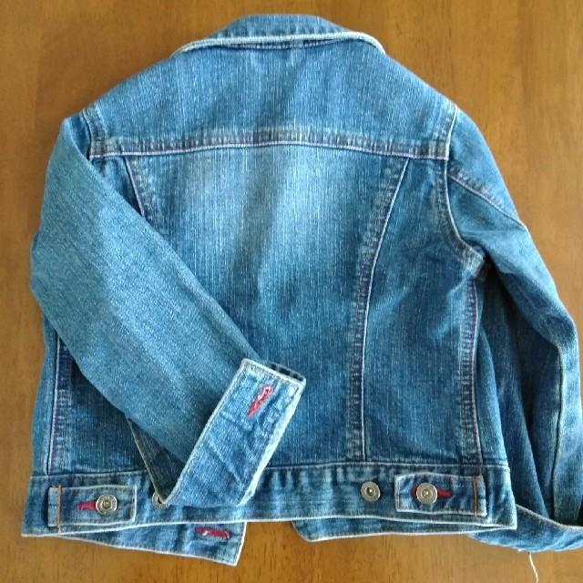 UNIQLO(ユニクロ)のユニクロ Gジャン 110 キッズ/ベビー/マタニティのキッズ服女の子用(90cm~)(ジャケット/上着)の商品写真