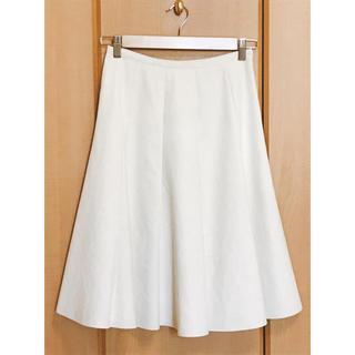 ストロベリーフィールズ(STRAWBERRY-FIELDS)の  STRAWBERRY-FIELDS フレアスカート ひざ丈スカート エクリュ(ひざ丈スカート)