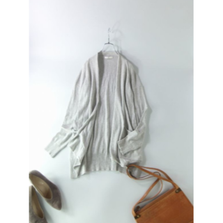 TOMORROWLAND - 美品 GALERIE VIE 定価:25,920円 ロングカーディガン Sサイズ