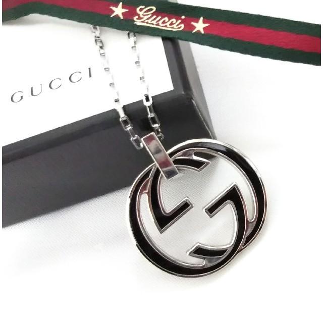 ロンジン価格偽物,Gucci-グッチインターロッキングG/GGモチーフシルバー×ブラックネックレスの通販