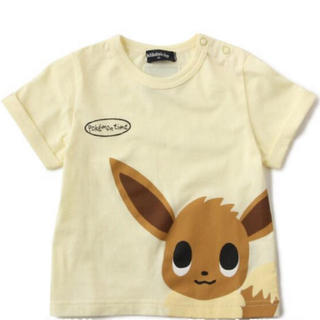 クレードスコープ(kladskap)の新品 クレードスコープ ポケモンコラボ イーブイTシャツ 100(Tシャツ/カットソー)