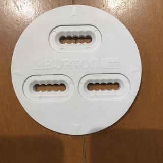 バートン(BURTON)のバートン ディスク 3D 2枚 白 未使用 送料込(ボード)