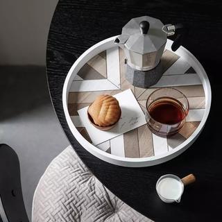 ウニコ(unico)の木製トレイ プレート お盆 インテリア(テーブル用品)