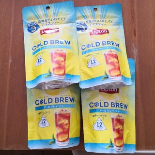 ユニリーバ(Unilever)のリプトン コールドブリューアールグレイ (茶)